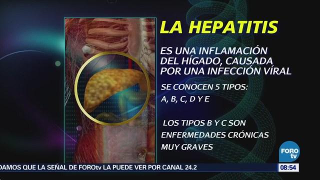 Conmemoran Día Mundial Contra Hepatitis