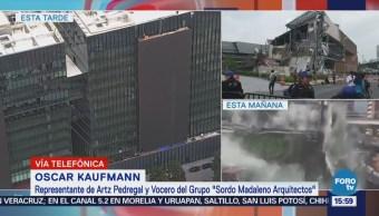Construcción Plaza Pedregal Cumple Normas Oscar Kaufmann