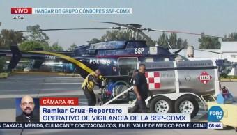 Continúa el operativo del grupo 'Cóndor' en la CDMX