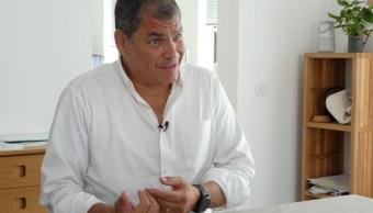 Corte Ecuador ratifica orden prisión Rafael Correa