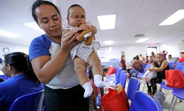 Cortes migratorias Estados Unidos han citado 70 bebés