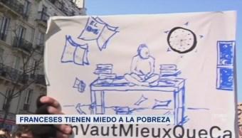 Crece la brecha entre ricos y pobres en Francia