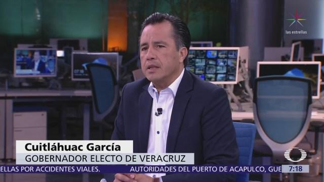 Cuitláhuac García, gobernador electo de Veracruz, en Despierta