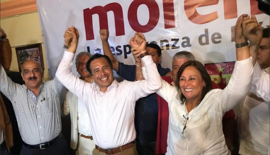 Cuitláhuac García pide tranquilidad a contendientes por la gubernatura de Veracruz