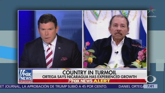 Daniel Ortega descarta renunciar a su mandato en Nicaragua