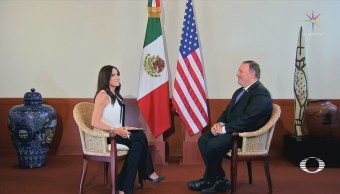 Danielle Dithurbide Entrevista Mike Pompeo Exclusiva