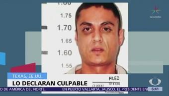 Declaran culpable en Texas al exlíder de Los Zetas