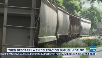 Defecto Riel Provoca Accidente Ferroviario Cdmx