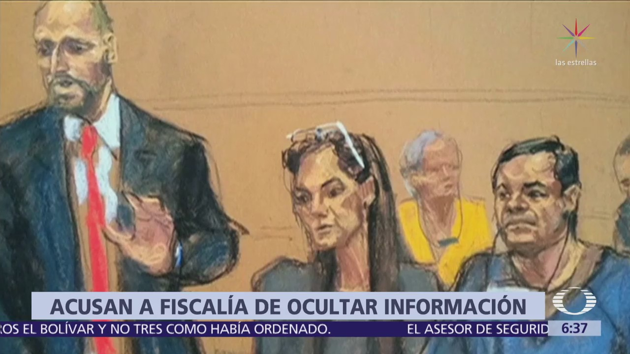 Defensa de 'El Chapo' denuncia que Fiscalía oculta información