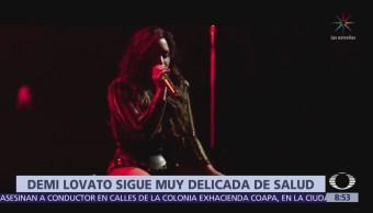 Demi Lovato continúa hospitalizada por sobredosis