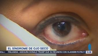 Descubra qué provoca el ojo seco