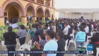 Despiden a 13 personas asesinadas en emboscada en Oaxaca