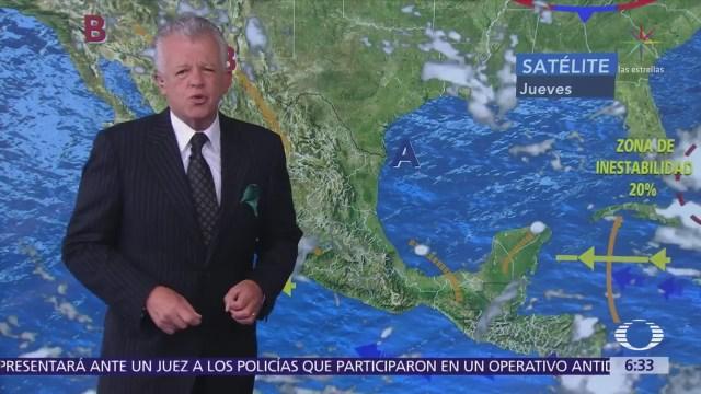 Despierta con Tiempo: Onda tropical 15 ocasionará lluvias