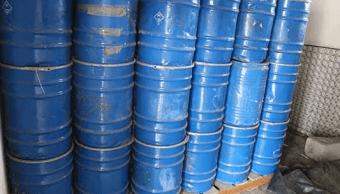 PGR destruye más de 28 toneladas de precursores químicos