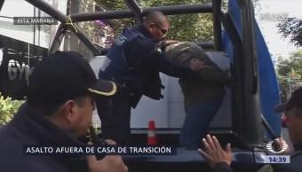 Detienen Asaltante Afuera Casa Transición Amlo