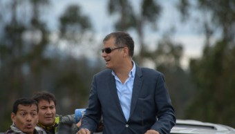 Dictan orden de prisión contra expresidente de Ecuador Rafael Correa