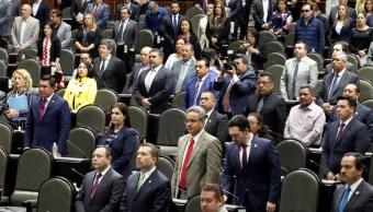 Proyección del Congreso con base en cómputos oficiales del INE