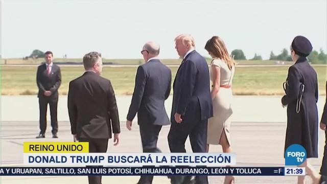 Donald Trump Buscará Reelección Estados Unidos