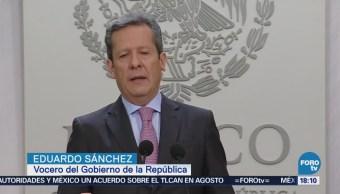 Eduardo Sánchez habla sobre propuesta para descentralizar