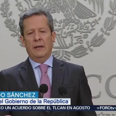 Eduardo Sánchez habla sobre propuesta para descentralizar dependencias