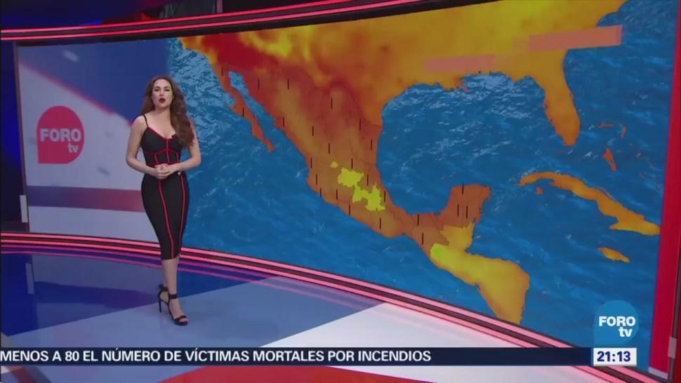 El Clima con Mayte Carranco del 25 - Ola de calor