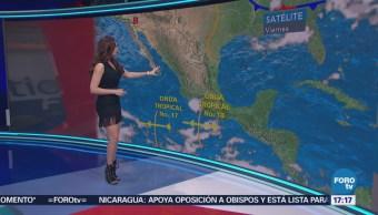 Clima Mayte Carranco Ondas Tropicales Provocaran Lluvias