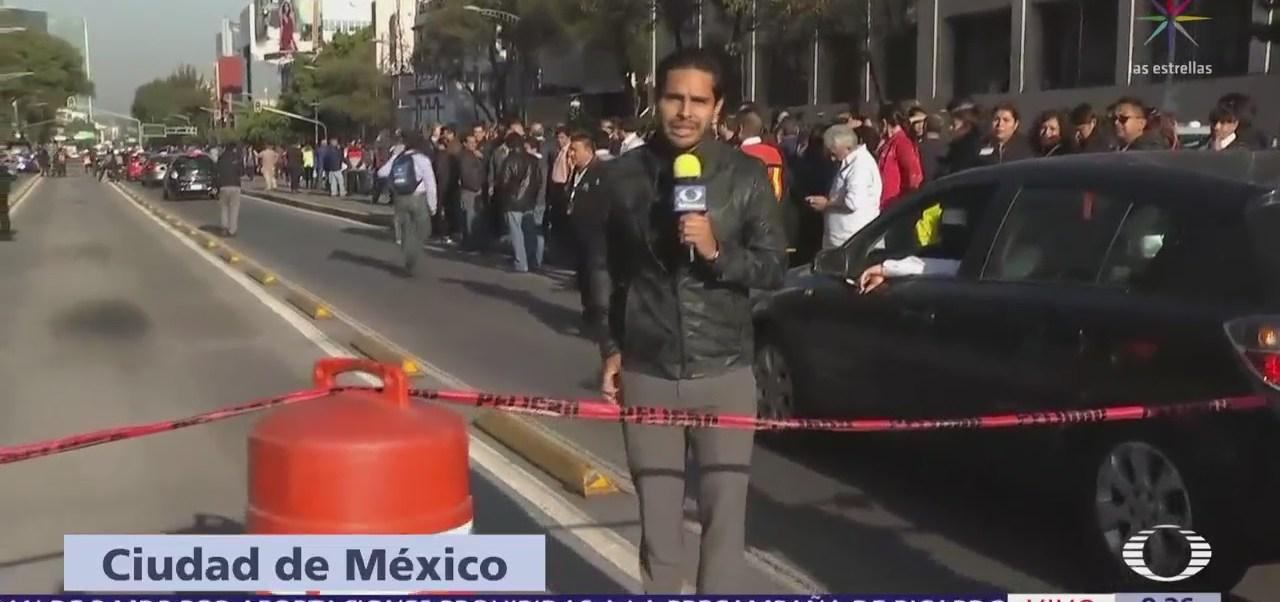 Empleados de Televisa Chapultepec abandonan instalaciones tras alerta sísmica