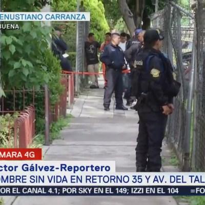 Encuentran cuerpo colgado en unidad habitacional de Balbuena, CDMX