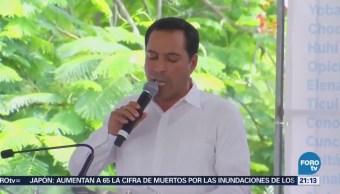 Entregan Constancia Mayoría Gobernador Electo Yucatán