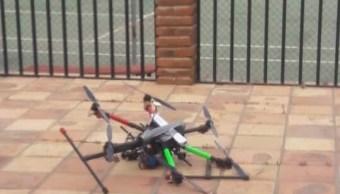 Con dron granadas atentan contra titular SSP Baja California