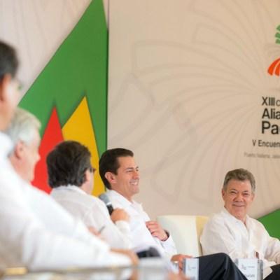 Alianza del Pacífico, exitosa, pero con desafíos: Peña Nieto