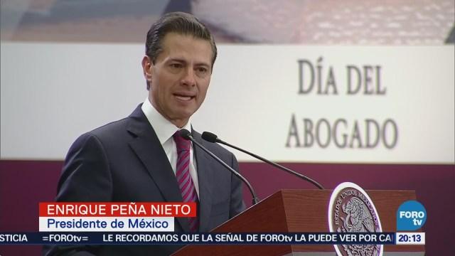 EPN defiende reformas logradas en su