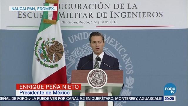 Epn Reconoce Labor Fuerzas Armadas Proceso Electoral
