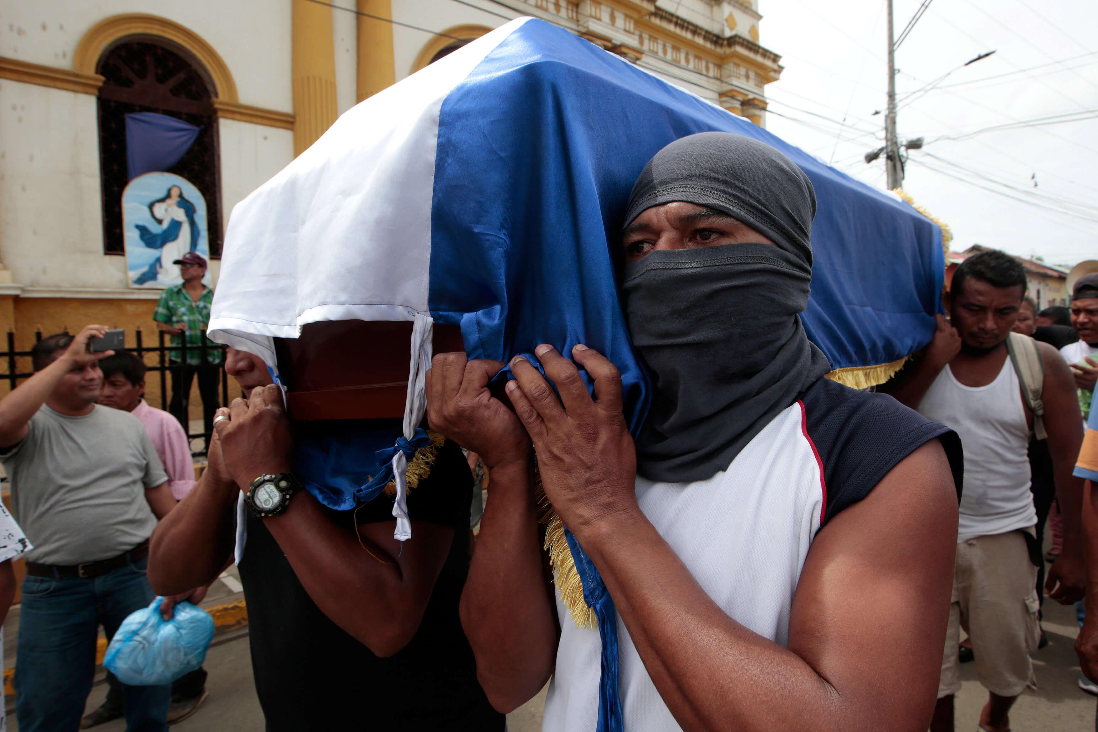 Estados Unidos condena violencia Nicaragua Daniel Ortega