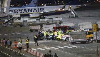 Evacuan avión aeropuerto holandés amenaza bomba