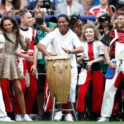 Will Smith y Ronaldinho animan ceremonia de clausura del Mundial