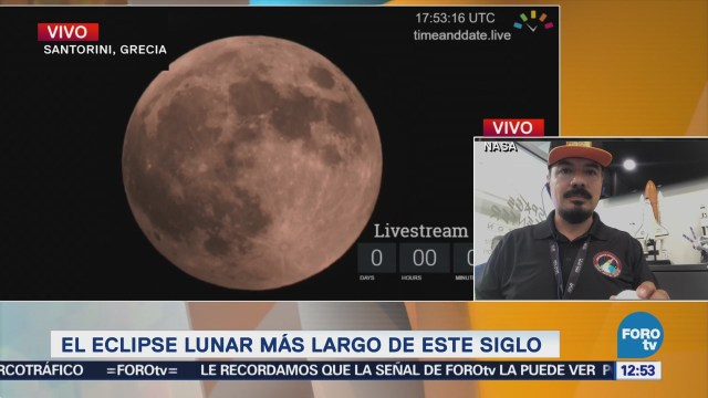 Explican con pelotas el fenómeno de eclipse lunar