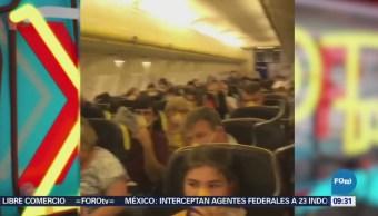 Extra Extra: Avión sufre despresurización en Alemania