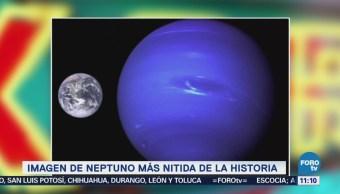 Extra Extra: La imagen de Neptuno más nítida de la historia