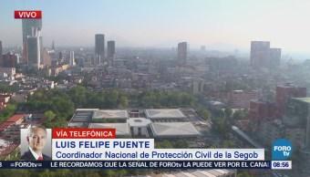 Felipe Puente: Continúa revisión de inmuebles, luego de sismo