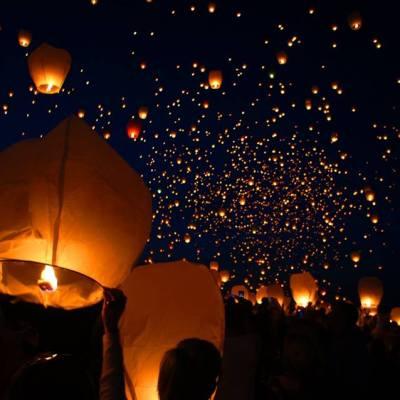 Teotihuacán se ilumina con el Festival de Globos de Cantolla