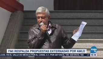 Fmi Respalda Propuestas Fiscales López Obrador