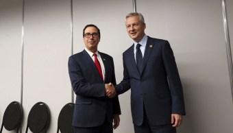 Francia pide a EU en G20 respetar reglas de multilateralismo