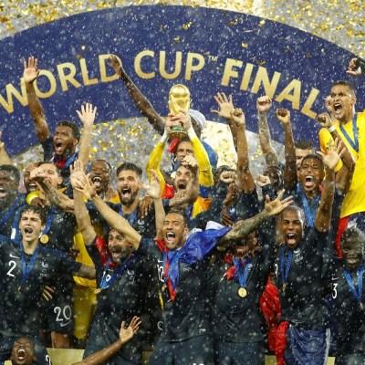 Francia gana el Mundial de Futbol de Rusia 2018