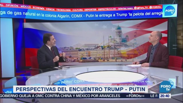 Francisco Gil Villegas analiza cumbre Trump-Putin