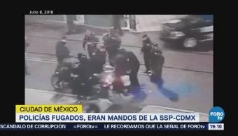 Mandos Policía Quienes Golpearon Reportero Reforma