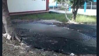 fuga petroleo afecta escuela altamira tamaulipas