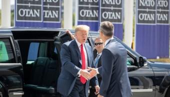 Trump amenaza con sacar a Estados Unidos de la OTAN