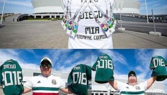 Selección Nacional motivó a mexicano a viajar al Mundial