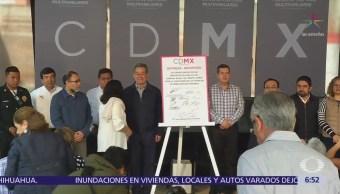 Gobierno CDMX entrega predio en delegación Benito Juárez para iniciar reconstrucción